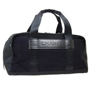 CHANEL Sport Line CC Boston Hand Bag 9273443 Purse